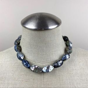 Vintage Abalone Shell Beaded Necklace